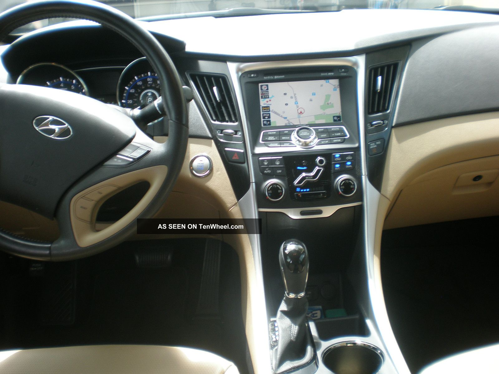 2011 Hyundai Sonata Limited Sedan 4 Door 2 4l