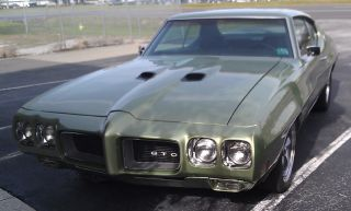 1970 Pontiac Gto 455 - Rare And 455 - Why A Judge 400? photo