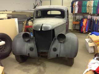 1936 Ford Humpback Two Door - Body Only photo