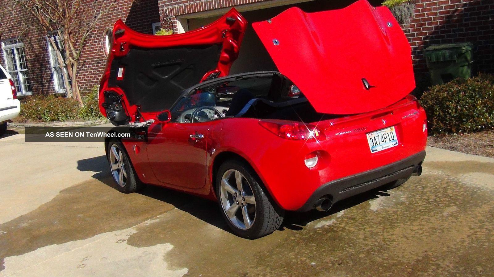 2008 Pontiac Solstice Gxp Convertible 2 Door 2 0l