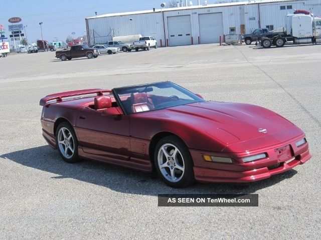 1990 Corvette C4 Convertible Auto Greenwood Body Kit