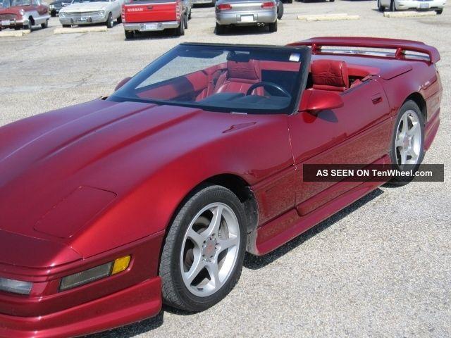 1990 Corvette C4 Convertible Auto Greenwood Body Kit
