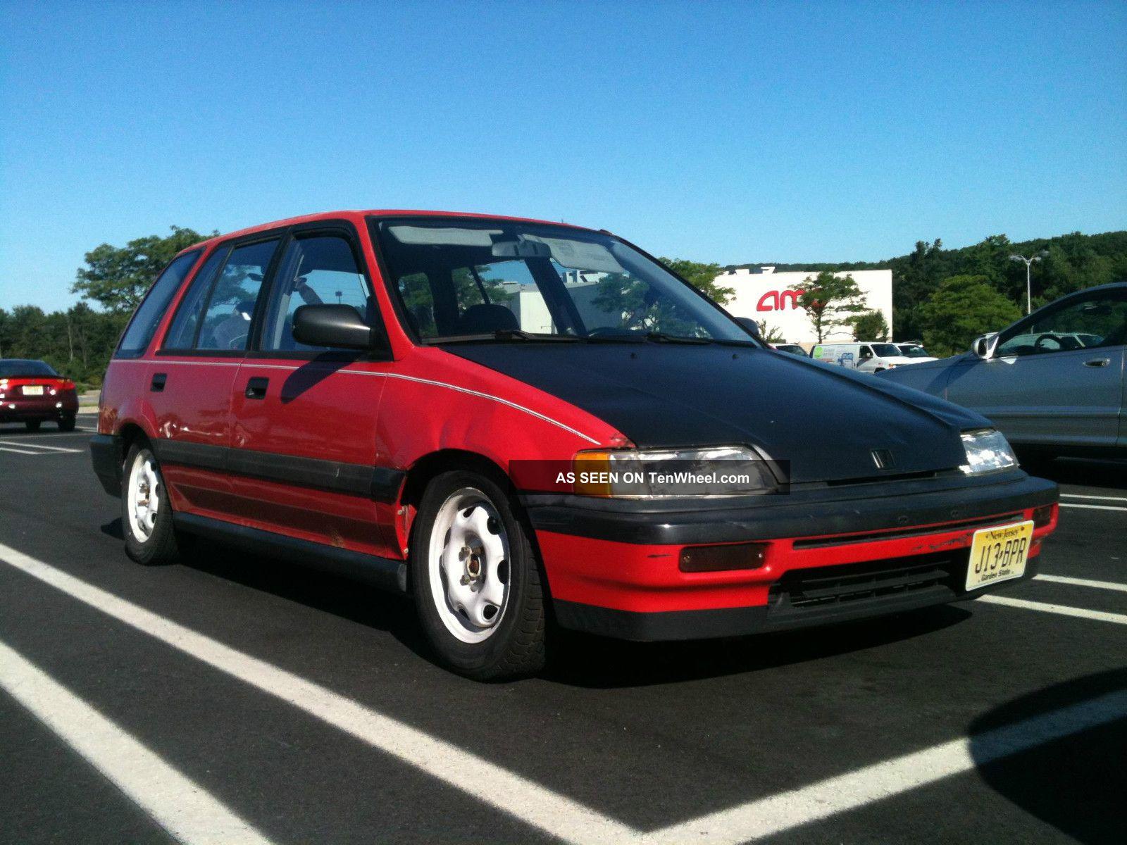 1990 honda civic wagon dimensions