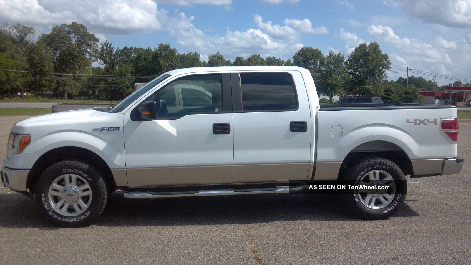2011 ford f 150 xlt crew cab pickup 4 door 5 0l. Black Bedroom Furniture Sets. Home Design Ideas