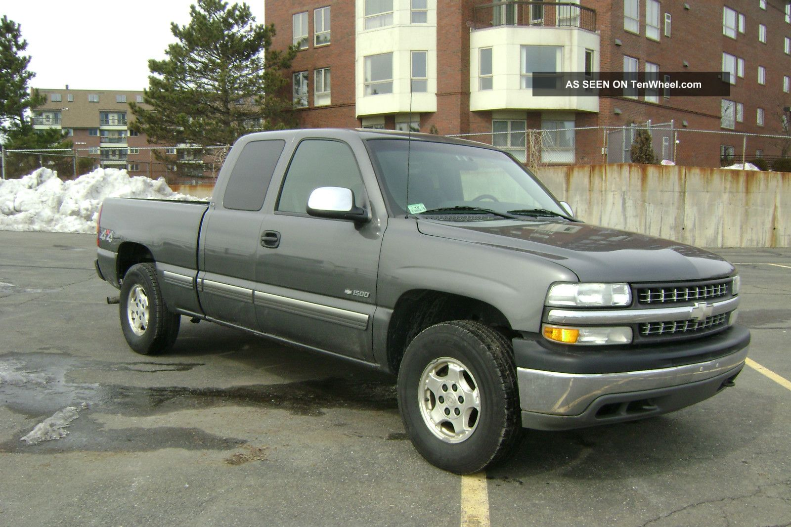 2002 chevrolet chevy silverado 1500 ls ext cab pickup auto v8 4x4. Black Bedroom Furniture Sets. Home Design Ideas