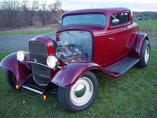 1932 Ford 3 Window Coupe Street Rod