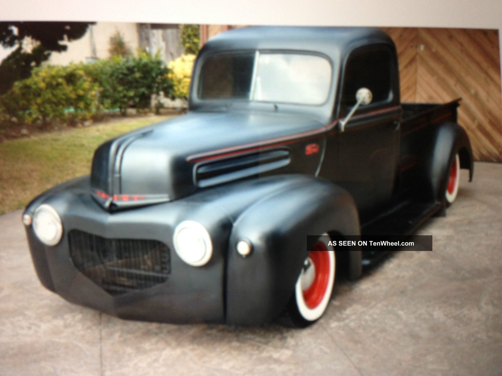 1947 Ford F100 Great Hot Rod Needs Nothing F-100 photo