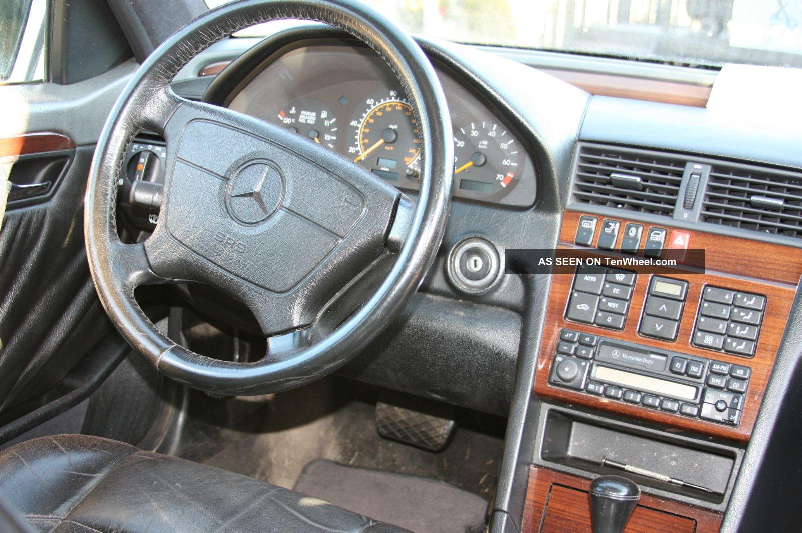 1994 Mercedes Benz C280 Base Sedan 4 Door 2 8l