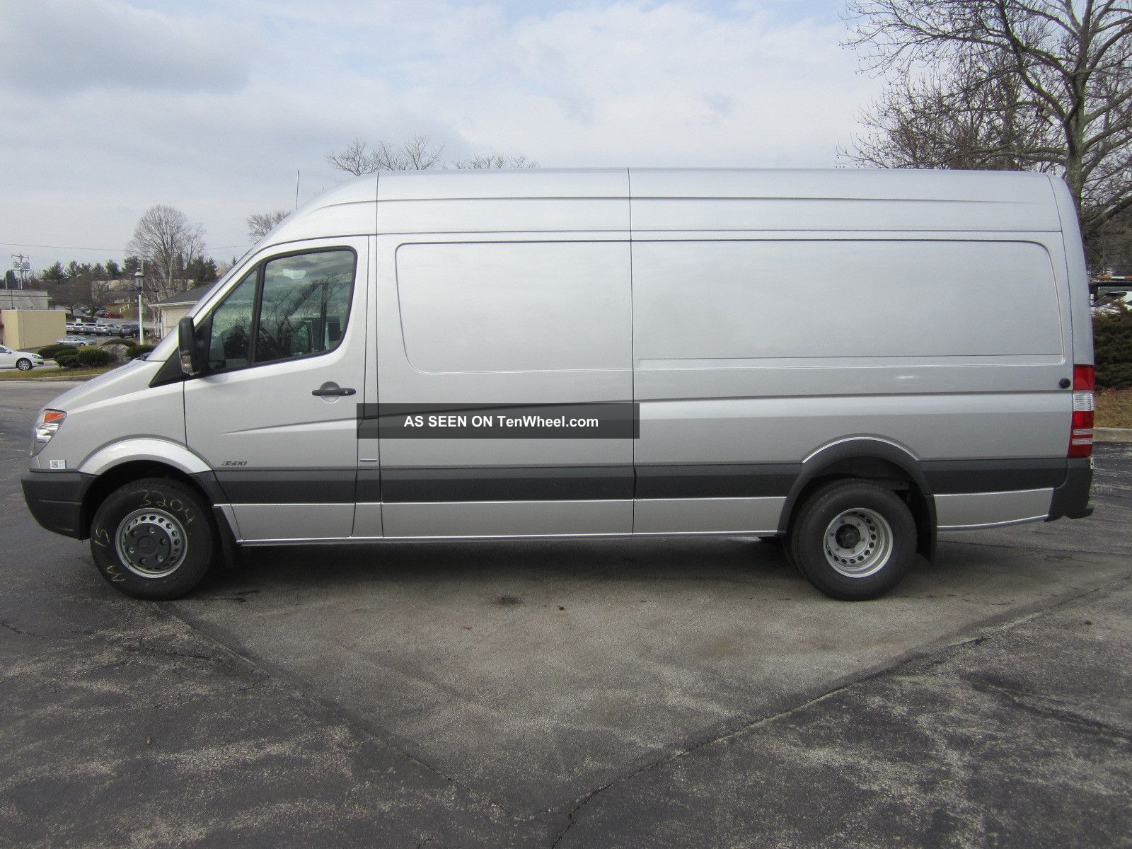 2013 mercedes benz sprinter 3500 heavy duty 170 wb van for Mercedes benz 3500 sprinter
