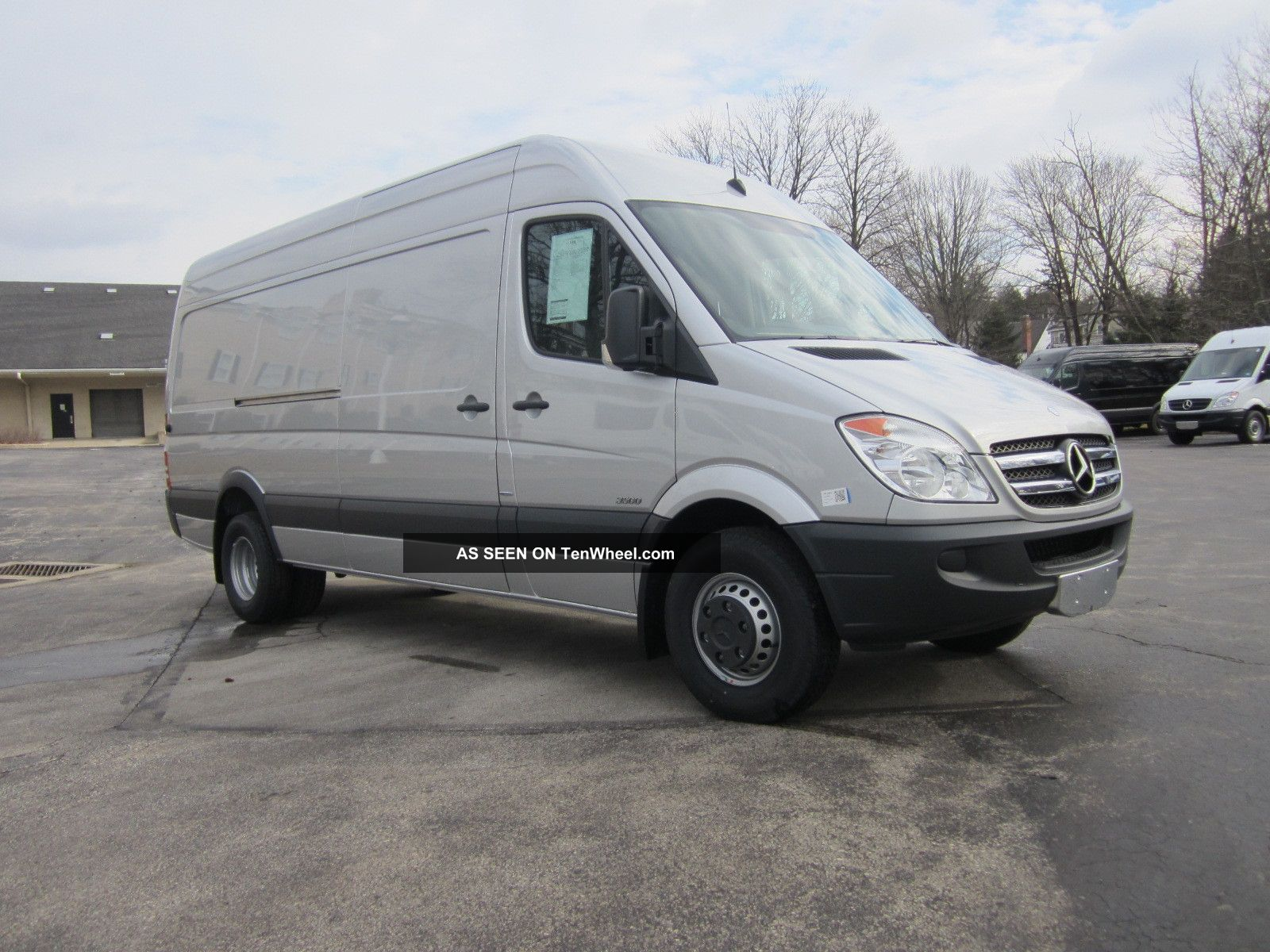 2013 mercedes benz sprinter 3500 heavy duty 170 wb van