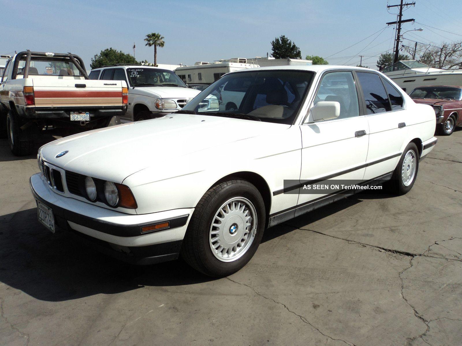 1992 Bmw 525i Base Sedan 4