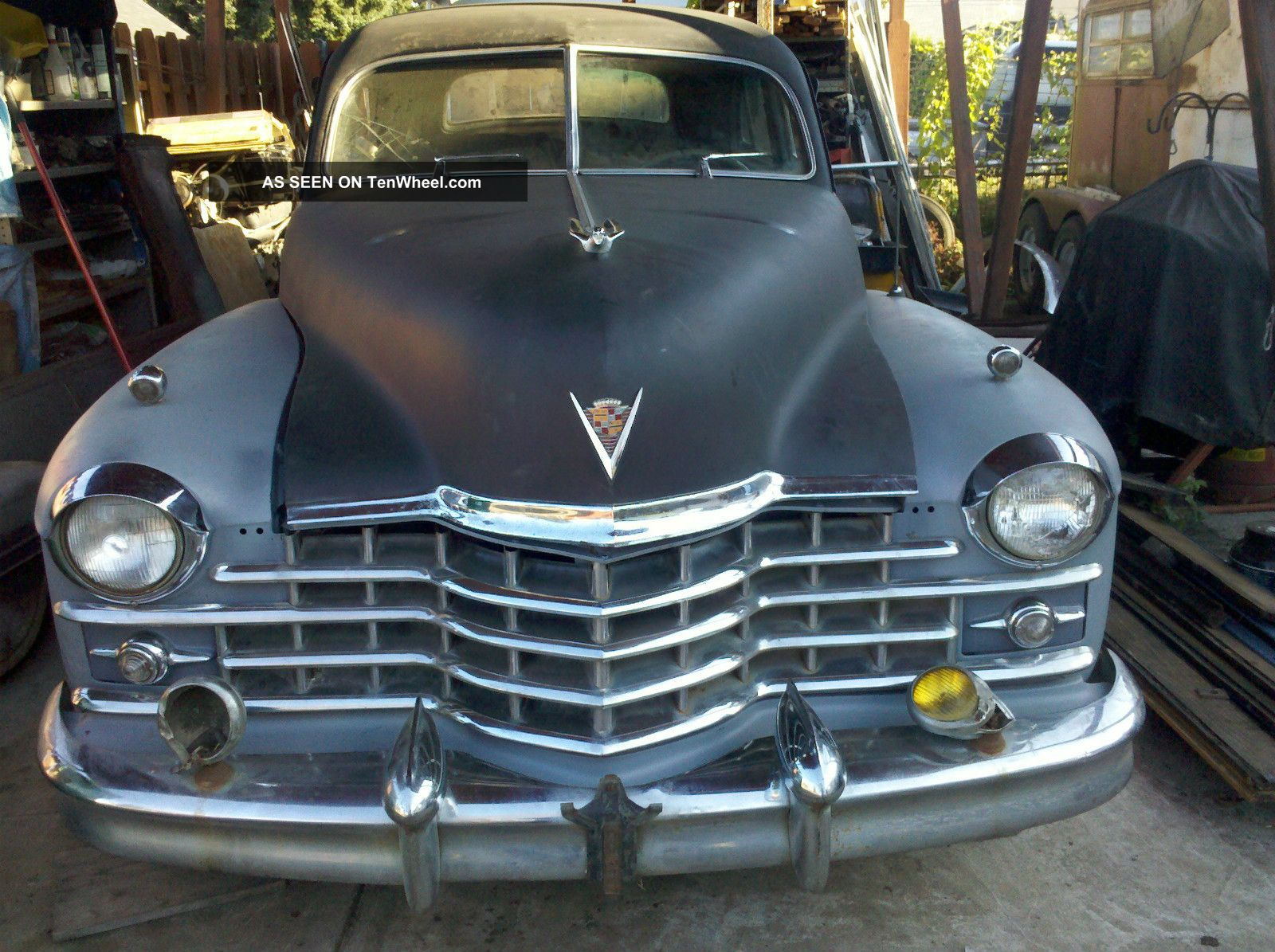 1947 Cadillac Series 62 Sedan Factory & Dealer Loaded Options Other photo