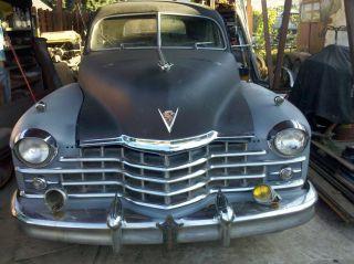1947 Cadillac Series 62 Sedan Factory & Dealer Loaded Options photo