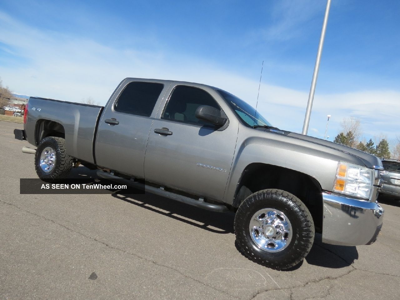 2007 chevrolet silverado 2500 hd crew cab short bed diesel 4x4 style. Black Bedroom Furniture Sets. Home Design Ideas