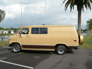 1978 Classic Chevy G20 Nomad Van photo