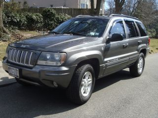 2004 Jeep Grand Cherokee Limited Sport Utility 4 - Door 4.  0l photo