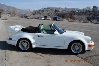 1989 Porsche 911 Carrera Convertible 2 - Door Twin Turbo 650hp photo
