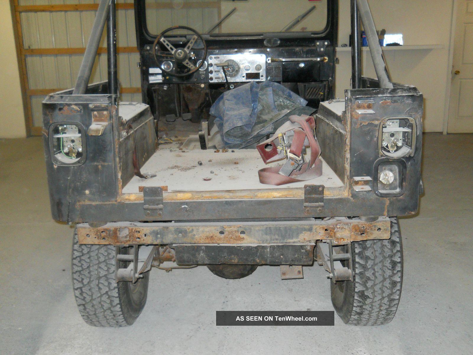 1978 Jeep Cj7 Rebuilt Motor With Receipts Good Driveline