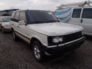 2001 Land Rover Range Rover Se Sport Utility 4 - Door 4.  6l photo