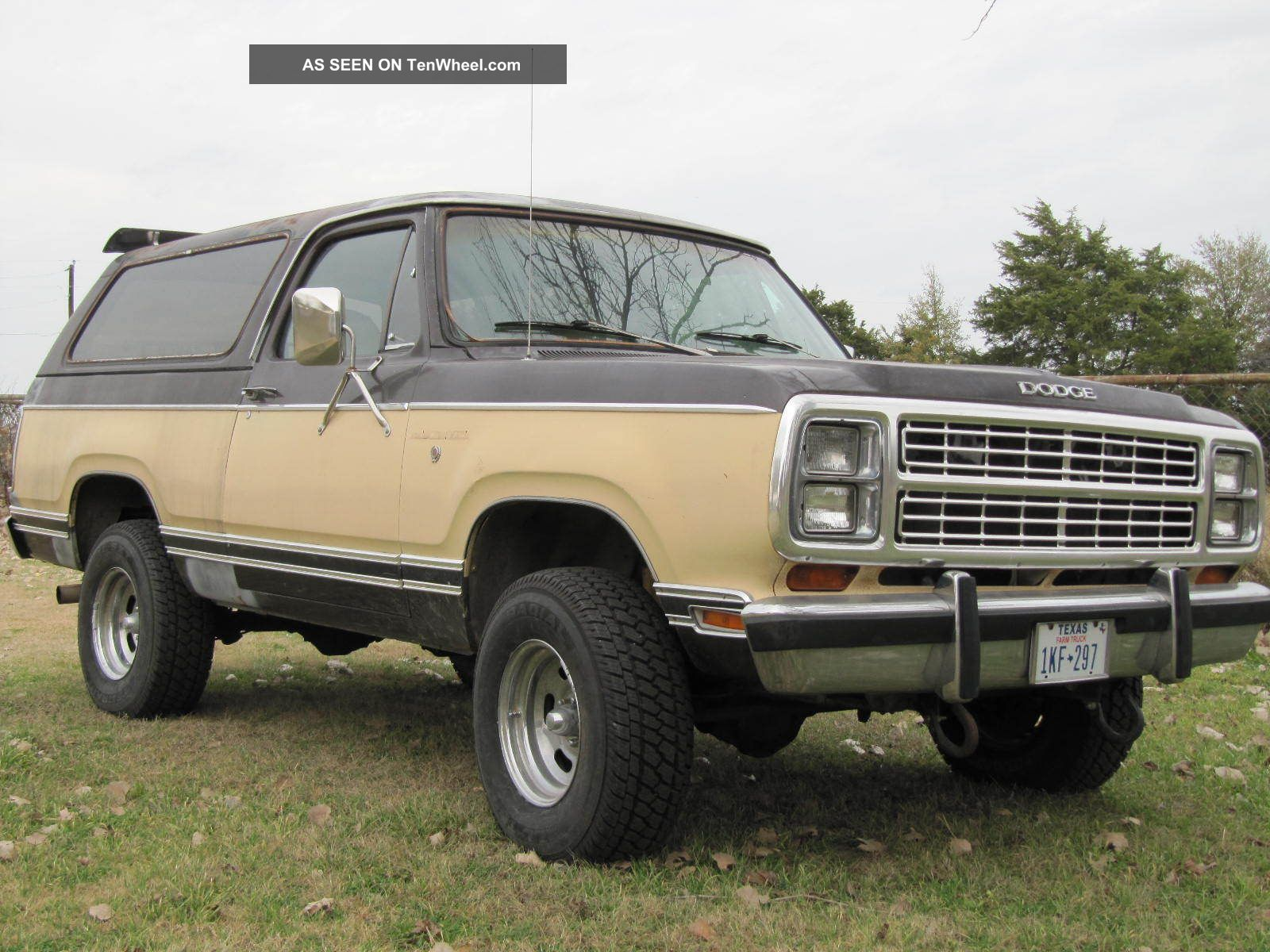 1979 dodge ram charger 2 door 4x4 great driver these are. Black Bedroom Furniture Sets. Home Design Ideas