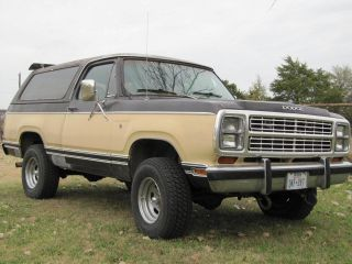1979 Dodge Ram Charger 2 Door 4x4 Great Driver These Are Gettting Hard To Find photo