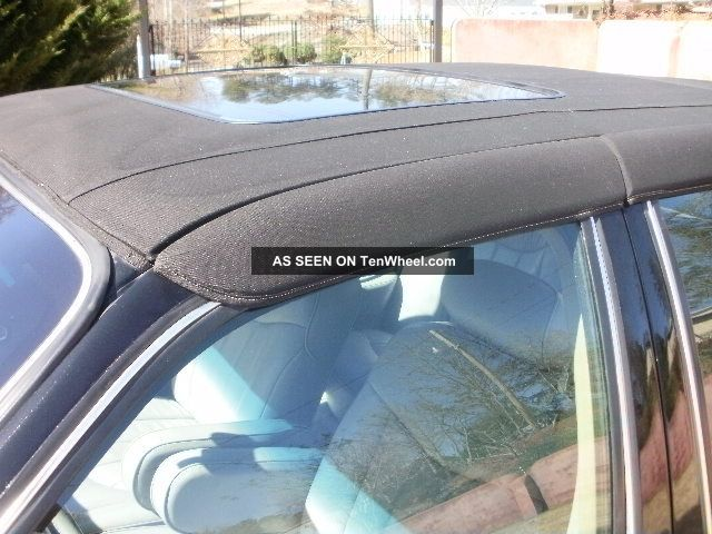 1996 Lincoln Signature Town Car Black W Carriage Top Michelin