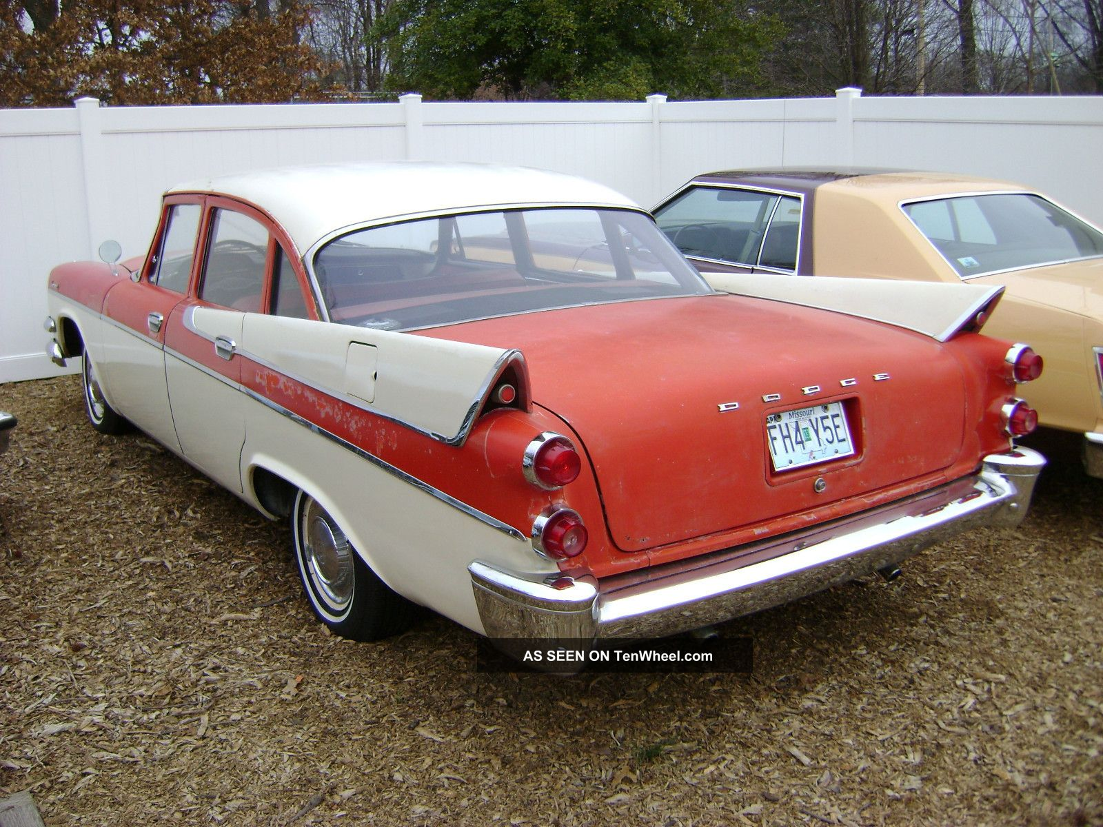 1957 dodge coronet 4 door sedan all runs and drives