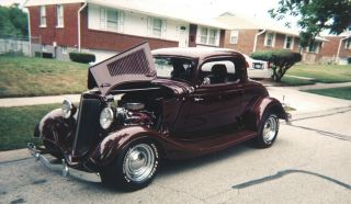 1934 3 Window Coupe photo