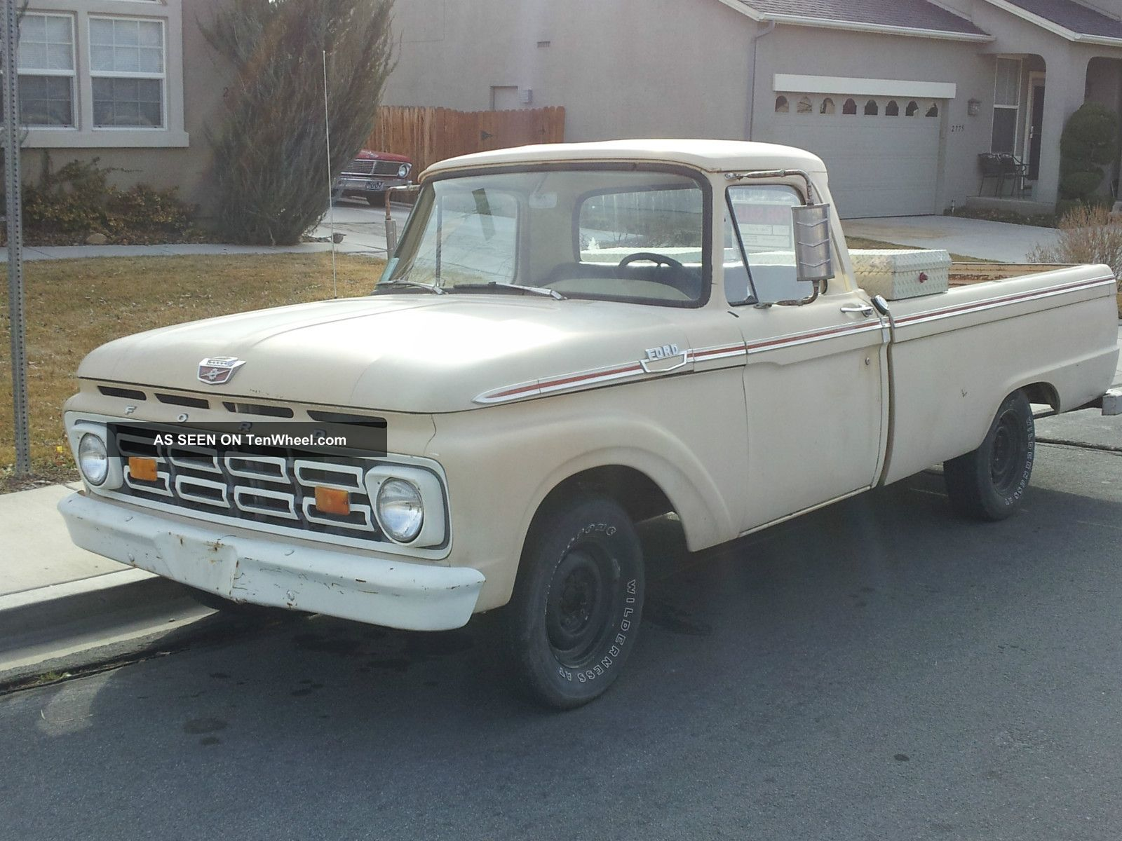 1964 Ford F 100 Long Bed