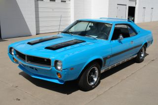 1969 Amc Javelin Sst Big Bad Blue photo
