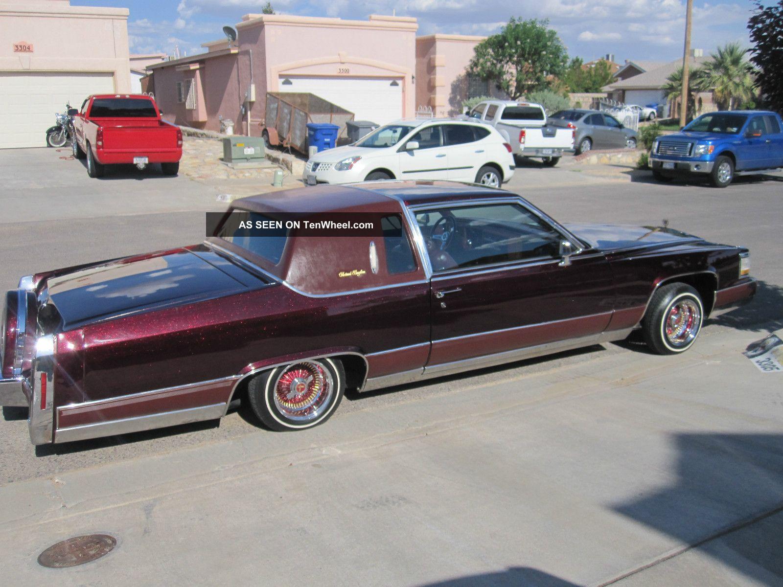 Cadillac Fleetwood Brougham Coupe Door Lowrider Lgw