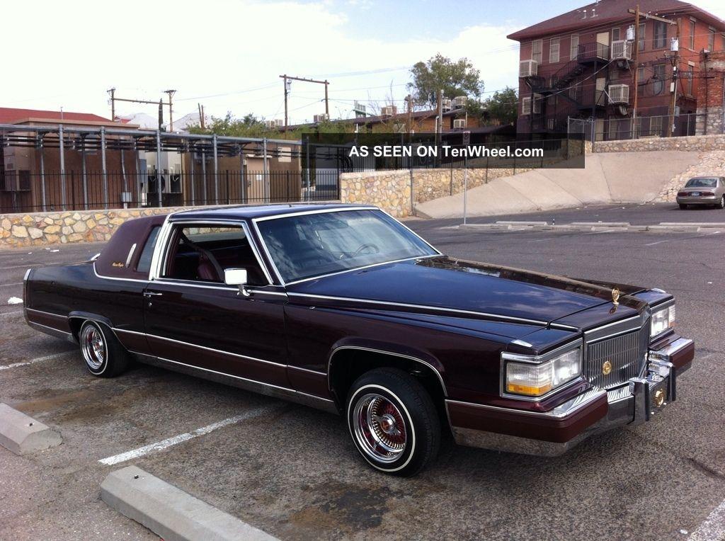 1984 Cadillac Fleetwood Brougham Coupe 2 - Door Lowrider