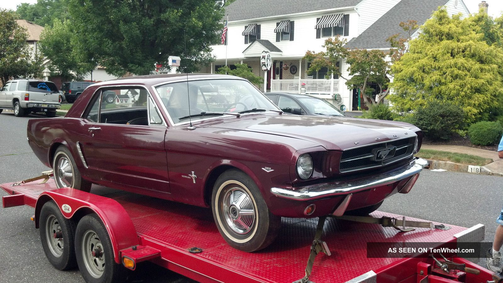 1964 1 2 ford mustang project car. Black Bedroom Furniture Sets. Home Design Ideas