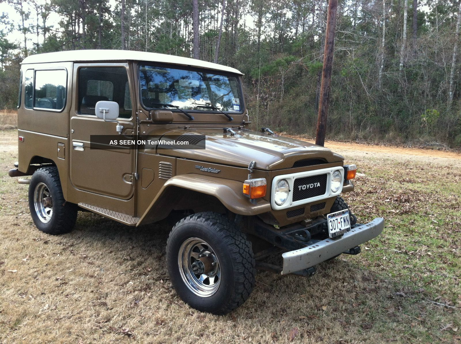 1982 fj 40 toyota land cruiser stock 4x4 very with owner manual. Black Bedroom Furniture Sets. Home Design Ideas