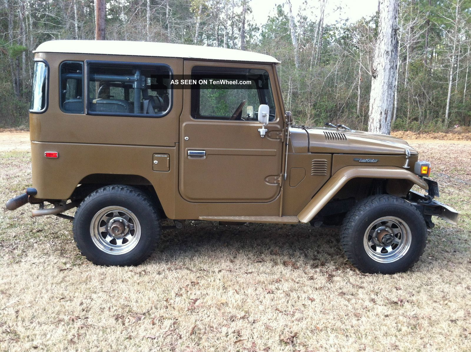 1982 fj 40 toyota land cruiser stock 4x4 very with owner. Black Bedroom Furniture Sets. Home Design Ideas