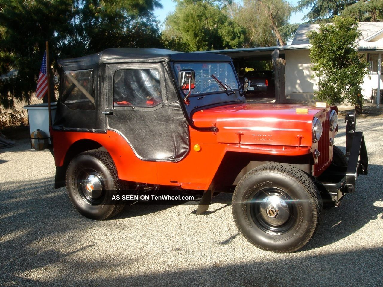 willys jeep 1954 cj3b. Black Bedroom Furniture Sets. Home Design Ideas