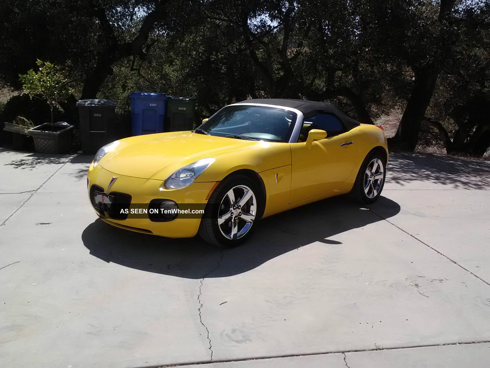 2007 Pontiac Solstice Gxp Convertible 2 - Door 2.  0l Solstice photo
