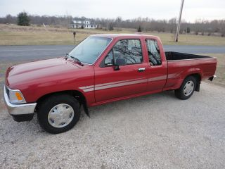 1994 Toyota Extra Cab Truck 2wd 4 Cylinder 5 Speed Pre Tacoma Hilux photo