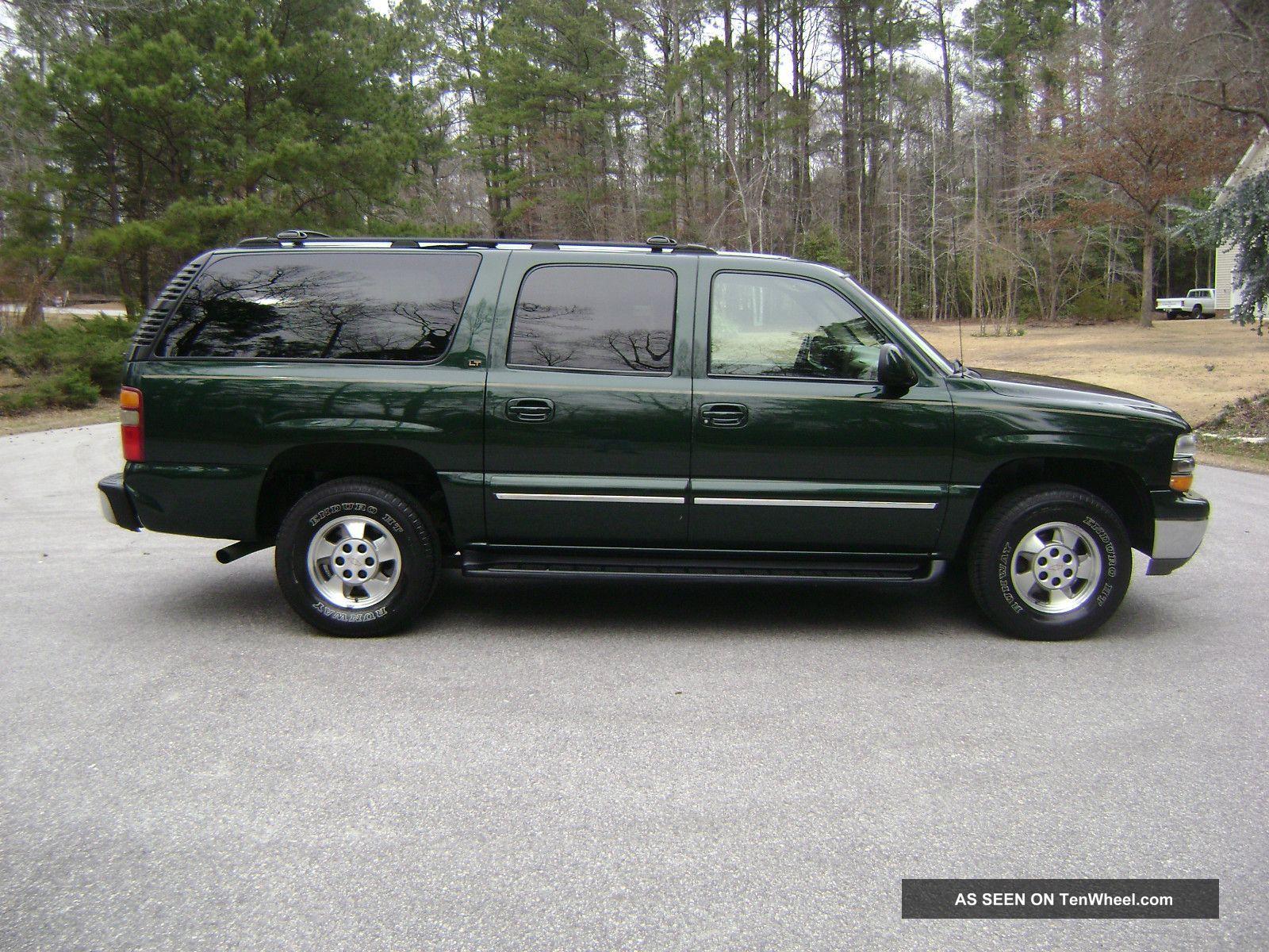 2001 Chevrolet Suburban 1500 Lt Sport Utility 4 - Door 5. 3l