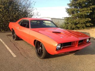 1974 Plymouth Cuda ' Viper Red Pro Touring photo