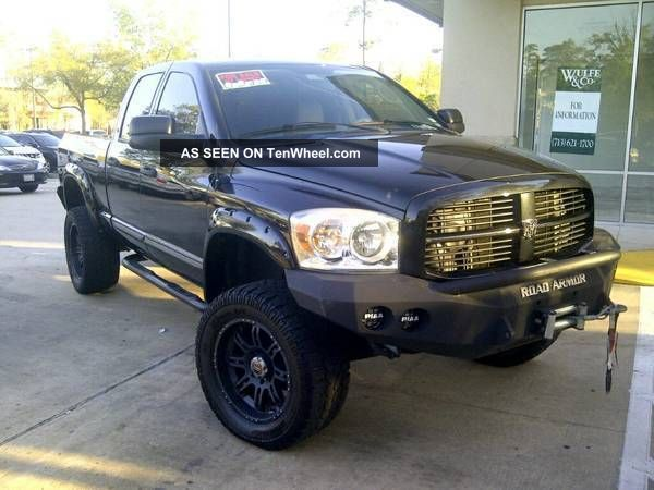 2007 dodge ram 2500 fully loaded slt 4x4 5 9l cummins turbo diesel custom built. Black Bedroom Furniture Sets. Home Design Ideas