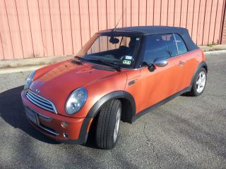 2005 Mini Cooper Base Convertible 2 - Door 1.  6l photo
