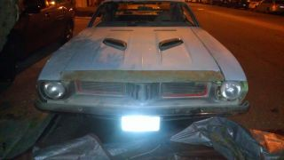 1974 Barracuda Cuda Running Project 318 V8 Bucket Seats Car photo
