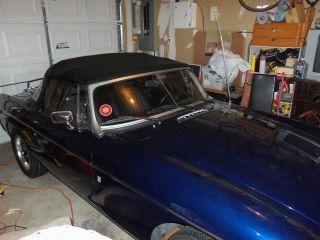 1977 Mgb - Garage Kept,  No Rust Spots,  Interior,  Top,  Weber Carb, photo