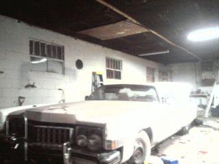 1973 Cadillac Eldorado Base Convertible 2 - Door 8.  2l Pace Car photo