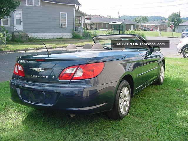 2008 chrysler sebring convertible sebring photo 10. Cars Review. Best American Auto & Cars Review