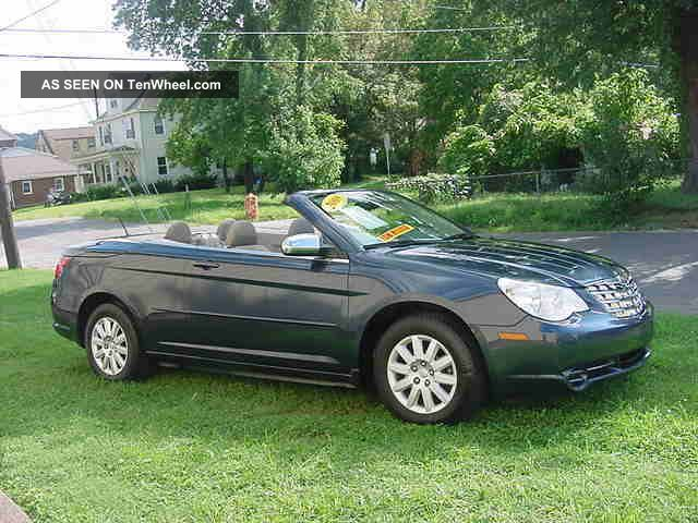2008 chrysler sebring convertible sebring photo. Cars Review. Best American Auto & Cars Review