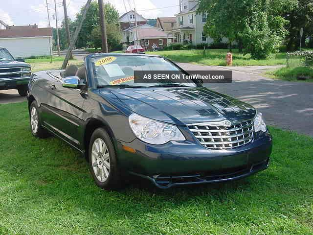 2008 chrysler sebring convertible sebring photo 4. Cars Review. Best American Auto & Cars Review