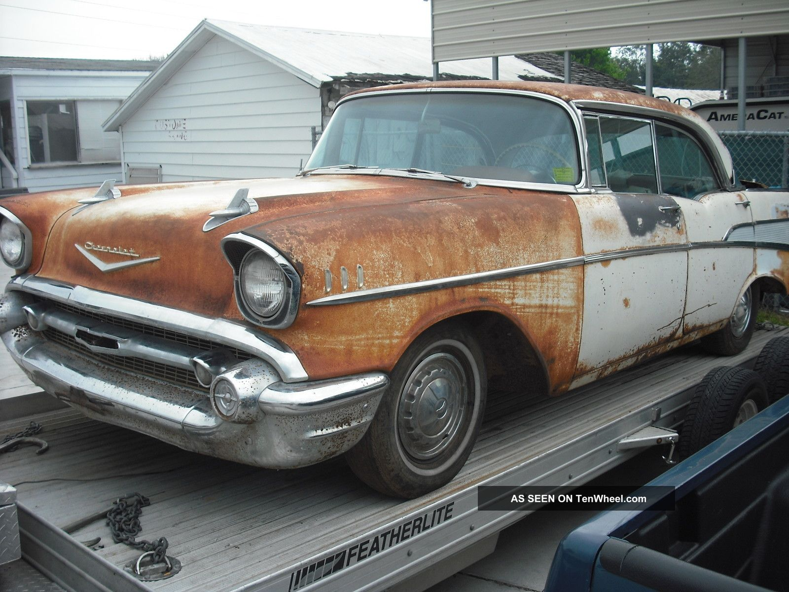 1957 Chevrolet Bel Air,  4dr Hardtop Sport Sedan,  100%,  283,  Ps,  Pb,  Auto Bel Air/150/210 photo