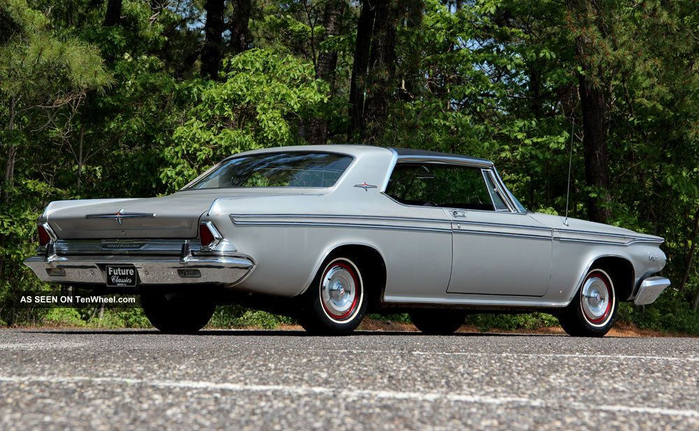 rare 1964 chrysler 300 silver edition fully documented. Black Bedroom Furniture Sets. Home Design Ideas